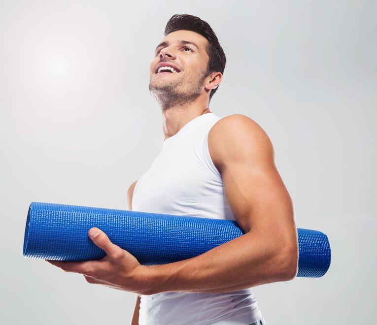 Чем полезна йога для мужчин (видео урок)?