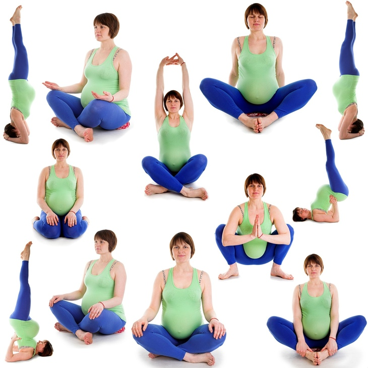 Комплекс йоги для беременных 32